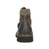 Obuwie męskie za kostkę, na grubej podeszwie bata, brązowy, 896-4683 - 17