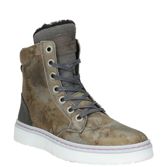 Zimowe obuwie damskie zociepliną bata, szary, 596-2684 - 13