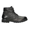 Zimowe skórzane buty męskie bata, szary, 896-2682 - 26
