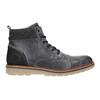 Skórzane buty męskie za kostkę bata, szary, 896-2669 - 26