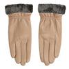 Beżowe skórzane rękawiczki damskie bata, beżowy, 904-4112 - 26