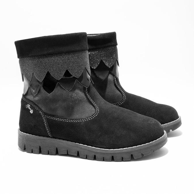 Zimowe buty dziecięce primigi, czarny, 423-6005 - 26