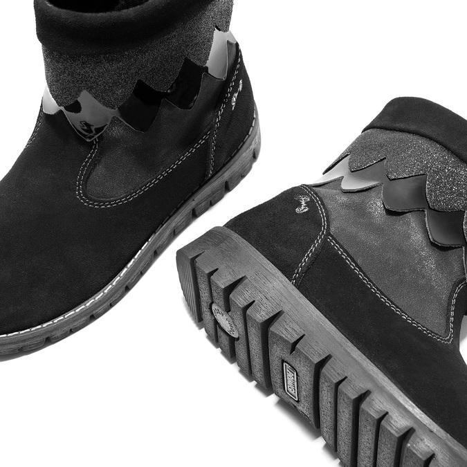 Zimowe buty dziecięce primigi, czarny, 423-6005 - 14