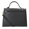 Czarna skórzana torebka picard, czarny, 966-6050 - 16