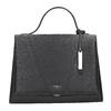 Czarna skórzana torebka picard, czarny, 966-6050 - 26