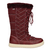 Bordowe śniegowce damskie bata, czerwony, 599-5621 - 26