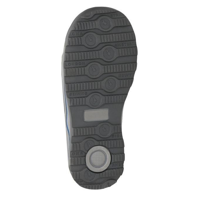 Zimowe buty dziecięce mini-b, szary, 291-2627 - 17