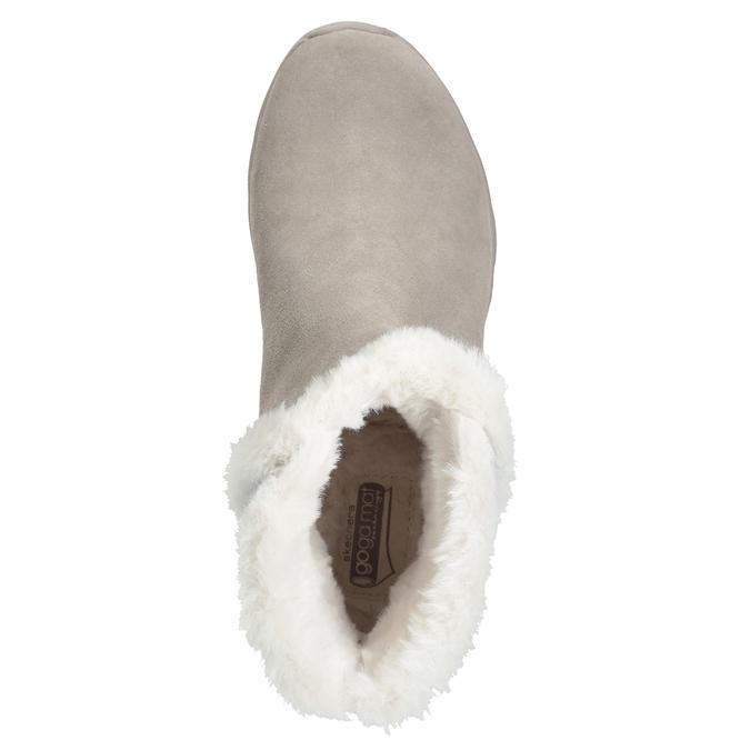Zamszowe obuwie damskie skechers, 503-3326 - 17