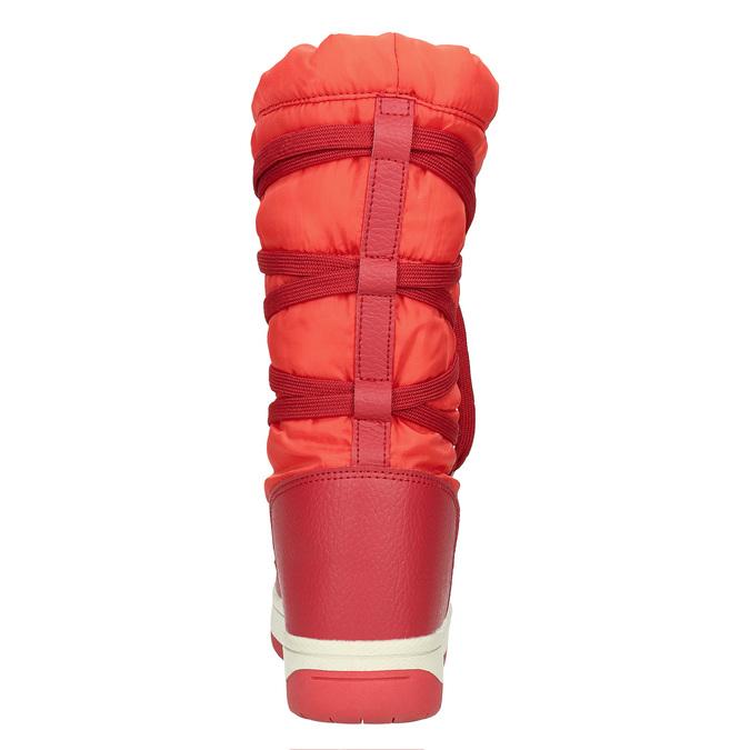 Czerwone śniegowce damskie bata, czerwony, 599-5616 - 17