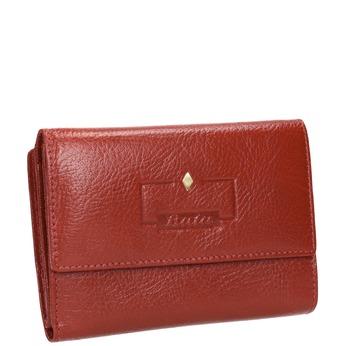 Skórzany portfel damski bata, czerwony, 944-5189 - 13