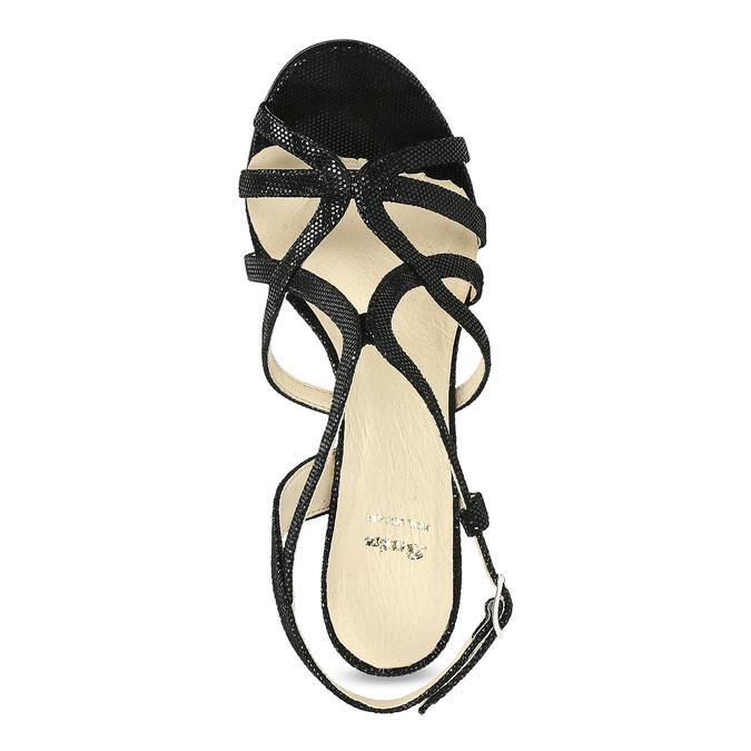 Wyjściowe sandały damskie bata, czarny, 726-6648 - 17