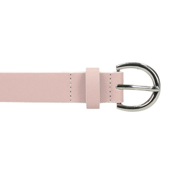 Różowy pasek damski bata, różowy, 951-9604 - 26