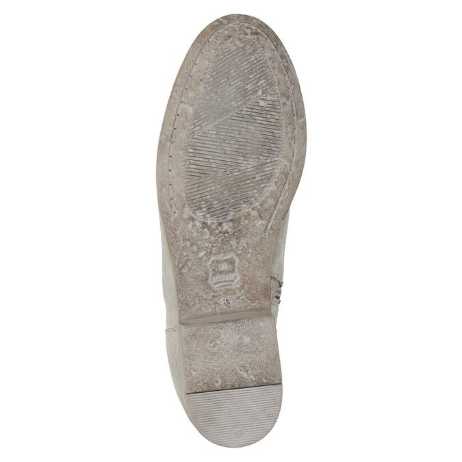 Botki zhaftem bata, szary, 596-2686 - 19