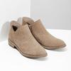 Skórzane botki bata, brązowy, 596-3685 - 26