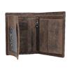 Brązowy skórzany portfel męski bata, brązowy, 944-4208 - 15
