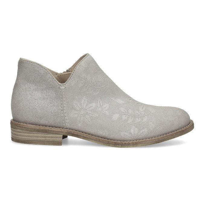 Botki damskie bata, szary, 596-2685 - 19