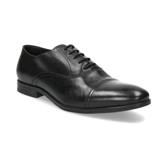Czarne skórzane półbuty typu oksfordy bata, czarny, 824-6944 - 13