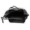 Czarny plecak ze sznurkiem bata, czarny, 961-6858 - 15