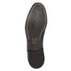 Półbuty męskie wykonane wcałości ze skóry bata, czarny, 824-6733 - 19