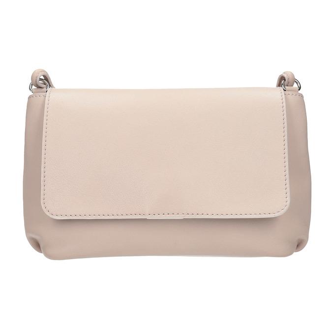 Kremowa skórzana torebka bata, różowy, 964-9291 - 26