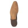 Skórzane półbuty męskie zfakturą bata, brązowy, 826-3825 - 18