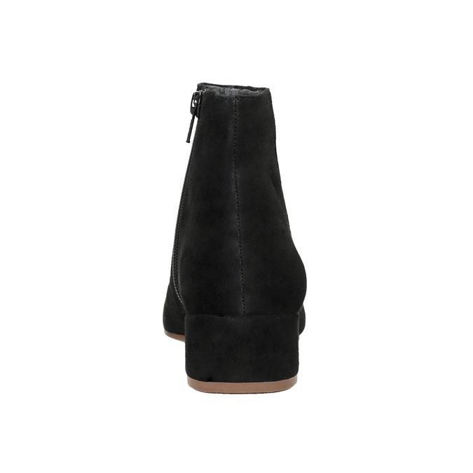 Zamszowe botki vagabond, czarny, 613-6040 - 16