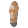 Skórzane półbuty męskie ze zdobieniami brogue bata, brązowy, 826-4827 - 18