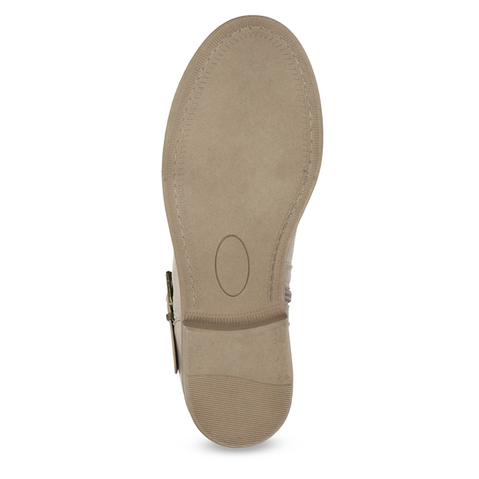 Kozaki damskie zkoronką bata, szary, 591-2628 - 18