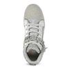 Srebrne trampki dziewczęce zkryształkami mini-b, srebrny, 329-2301 - 17