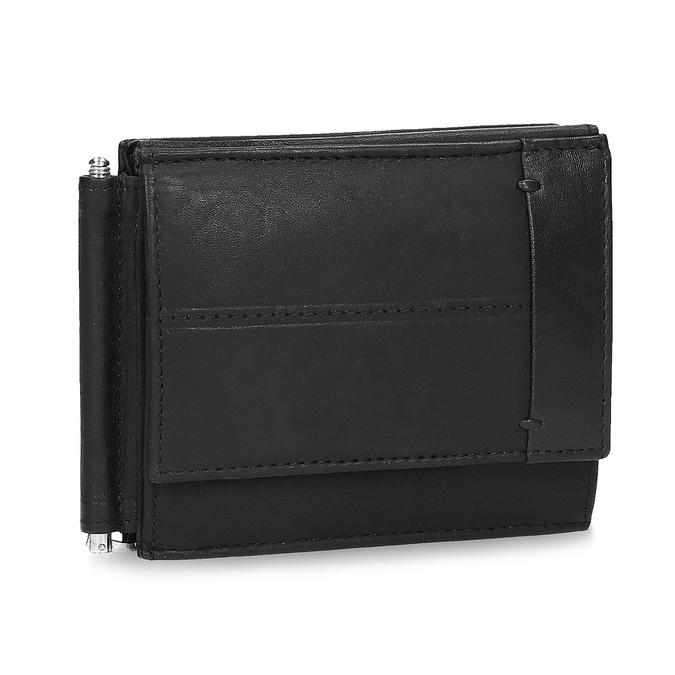 Skórzany portfel męski bata, czarny, 944-6209 - 13