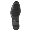 Skórzane półbuty męskie zprzeszyciami bata, brązowy, 826-4995 - 17