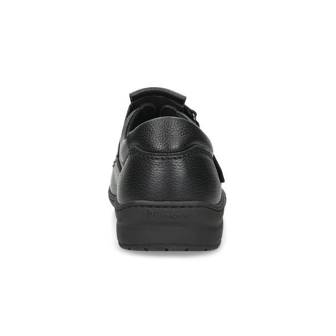 Skórzane sandały męskie pinosos, czarny, 864-6626 - 15