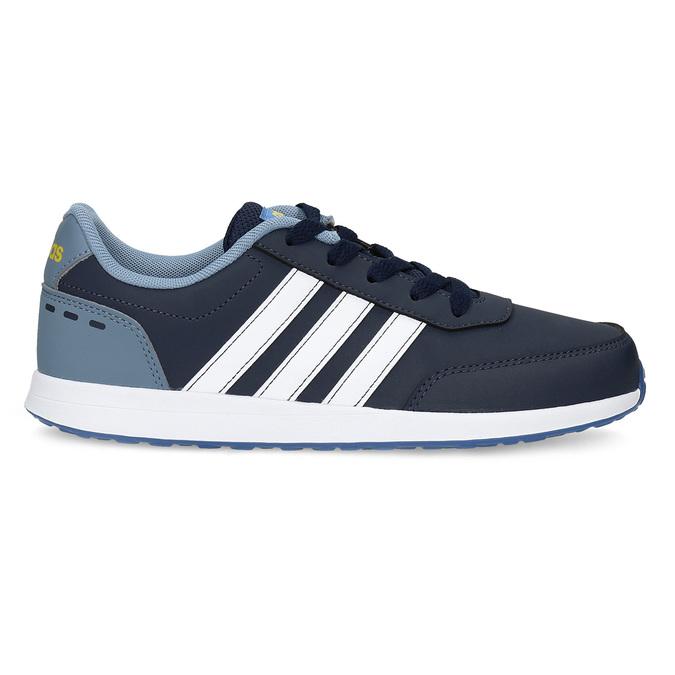 Granatowe trampki dziecięce adidas, niebieski, 401-9181 - 19