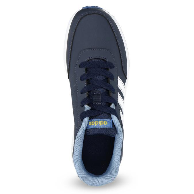 Granatowe trampki dziecięce adidas, niebieski, 401-9181 - 17