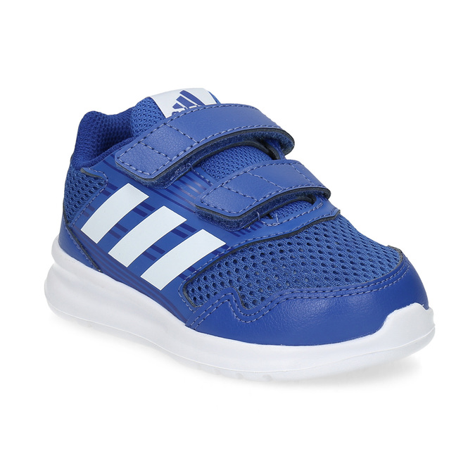 Niebieskie trampki dziecięce adidas, niebieski, 109-9147 - 13
