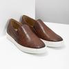 Skórzane slip-on męskie bata, brązowy, 836-4601 - 26