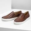 Skórzane slip-on męskie bata, brązowy, 836-4601 - 16