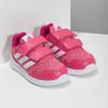 Różowe trampki dziecięce adidas, różowy, 109-5147 - 26