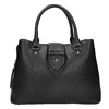 Czarna torba zodpinanym paskiem bata, czarny, 961-6216 - 26