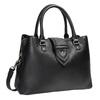 Czarna torba zodpinanym paskiem bata, czarny, 961-6216 - 13