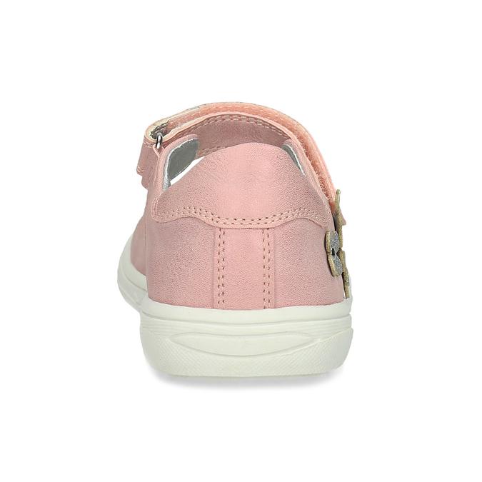 Różowe baleriny dziewczęce mini-b, różowy, 221-5216 - 15