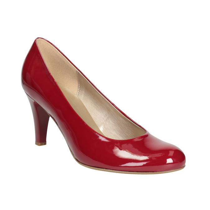 Czerwone czółenka damskie gabor, czerwony, 721-5064 - 13