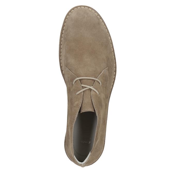 Skórzane buty pustynne męskie bata, 823-8622 - 17