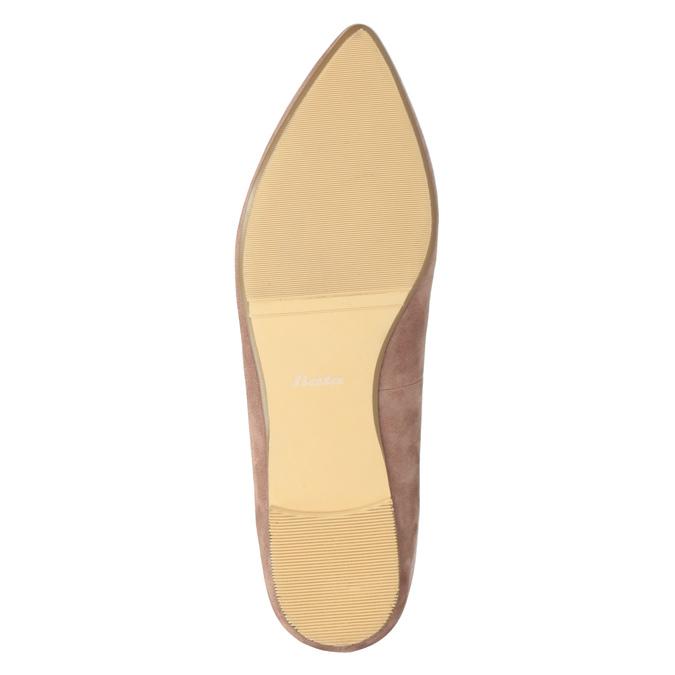Skórzane loafersy damskie bata, 523-5659 - 19