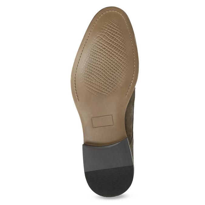 Angielki męskie zperforacją bata, brązowy, 823-8616 - 18
