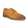 Zamszowe półbuty męskie bata, brązowy, 823-3626 - 13