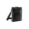 Czarna skórzana torba typu crossbody bata, czarny, 964-6288 - 13
