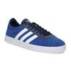 Niebieskie zamszowe trampki adidas, niebieski, 803-9979 - 13