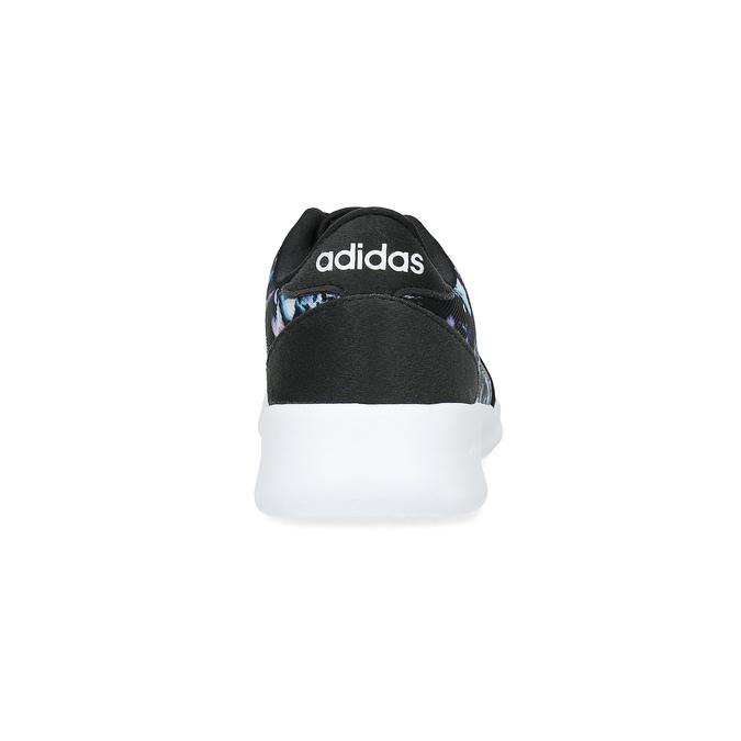 Trampki zkolorowym deseniem wkwiaty adidas, czarny, 509-6212 - 15