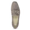 Skórzane mokasyny damskie zpaskiem bata, 516-3616 - 17